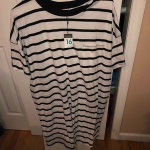 Never worn T-shirt dress